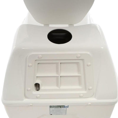Sun-Mar EXCEL NE Composting Toilet - Rear of Unit
