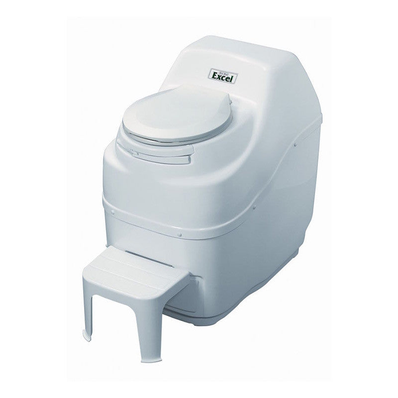 Sun-Mar EXCEL Composting Toilet - Electric High Capacity - White