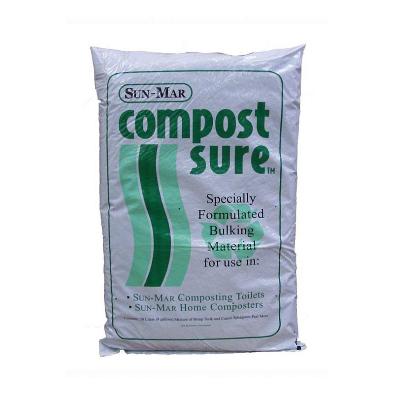 Sun-Mar Composting Toilet Accessory Bundle | Tiny Houses Inside