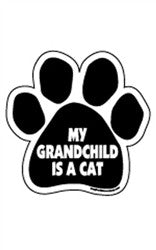 My Grandchild is a Cat Paw Magnets