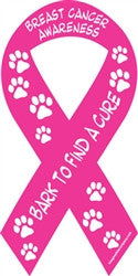 Cancer Awareness Ribbon - Bark to Find a Cure