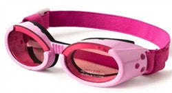 Pink ILS Doggles with Pink Lens & Straps