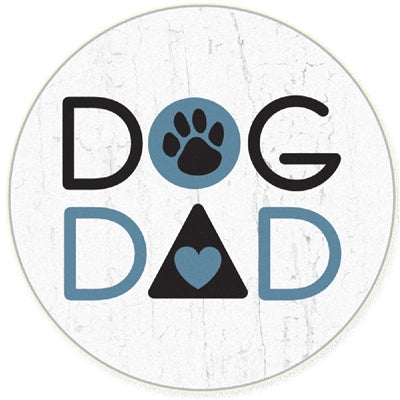 Dog Dad Car Coaster