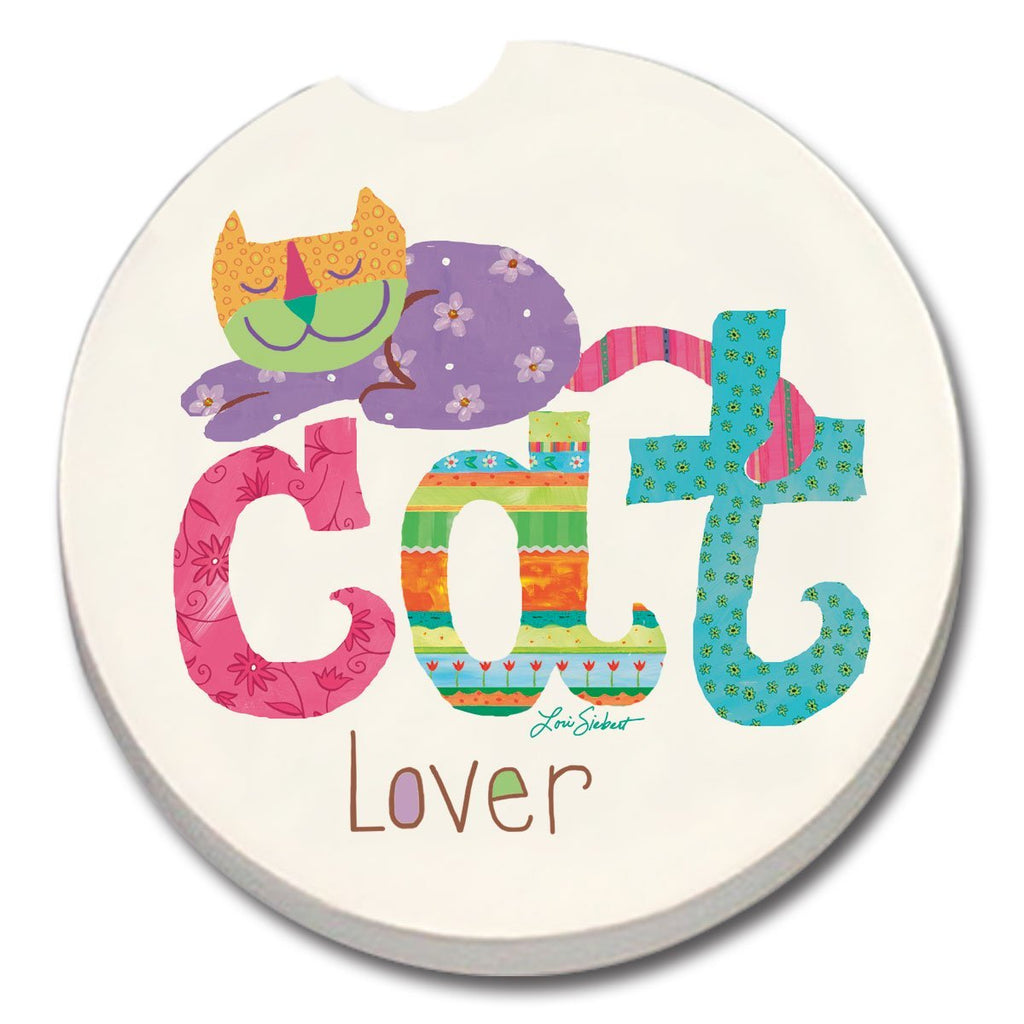 Cat Lover Car Coaster