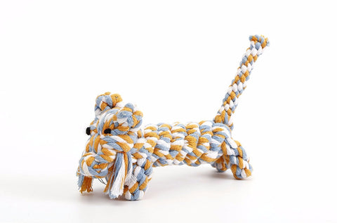 Cotton Rope Dog Toy, Lion