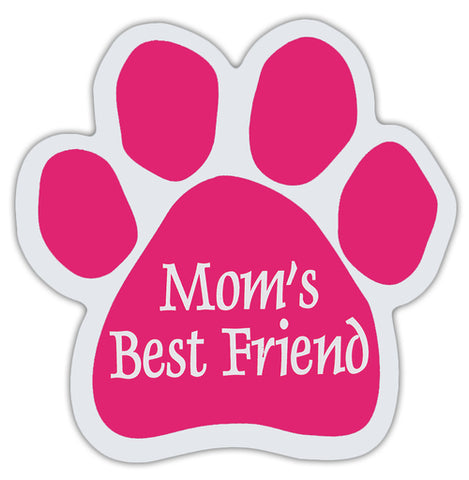 Mom's Best Friend Paw Magnet