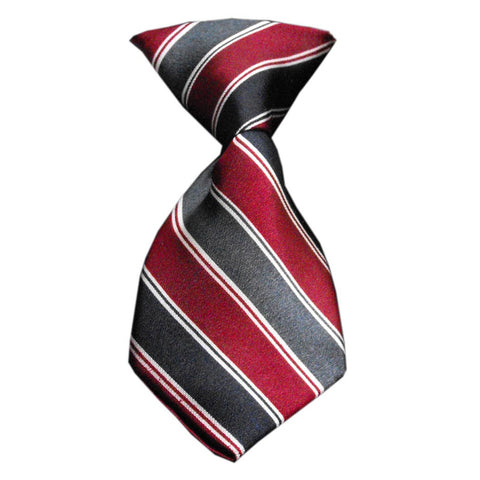 Striped Classic Dog Neck Tie