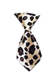 Cheetah Dog Neck Tie