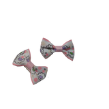 Garden Party Pink Bowknot Hair Bows