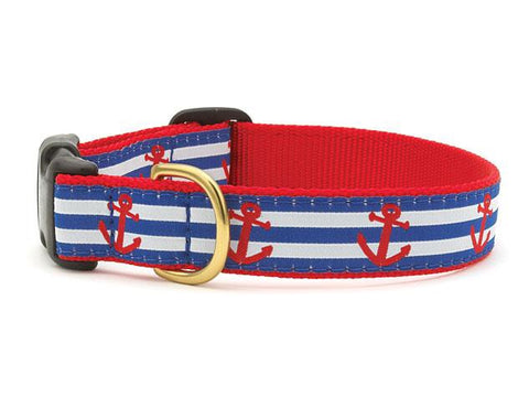 Anchors Adjustable Dog Collar