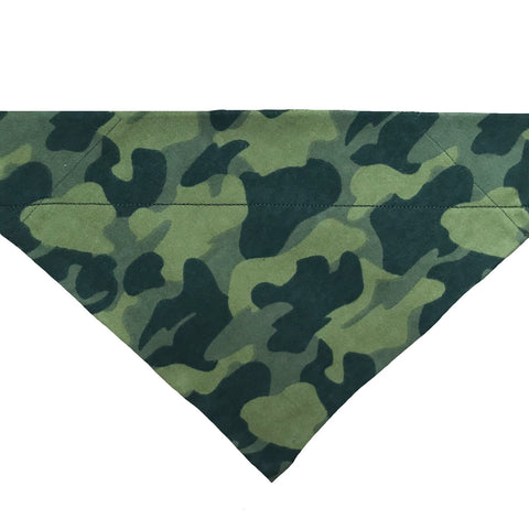 Camo Over-the-Collar Dog Bandana