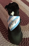 Great White Shark Over the Collar Scarf - Reversible - Five Bostons