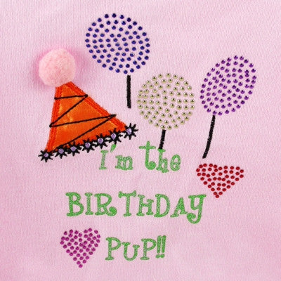 Birthday Pup - Pink Tank - BPaWed Pals, LLC
