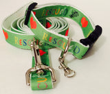 Rescued with Love Adjustable Dog Collar
