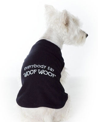 Woof Woof - Black Tee - 70% OFF
