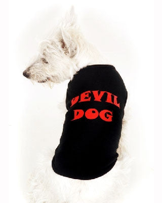 Devil Dog - Black Tank - BPaWed Pals, LLC
