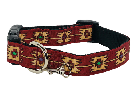 Aztec Adjustable Dog Collar
