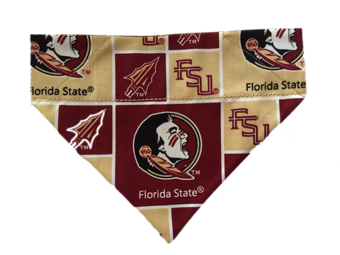 Florida State University Over the Collar Scarf - Reversible - Five Bostons