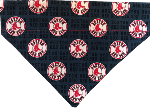 Boston Red Sox Over-the-Collar Dog Bandana - Reversible