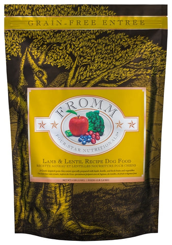 Fromm Four-Star Nutritionals Grain-Free Lamb & Lentil Formula Dry Dog Food