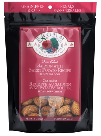 Fromm Four-Star Nutritionals Grain-Free Salmon with Sweet Potato Recipe Dog Treats