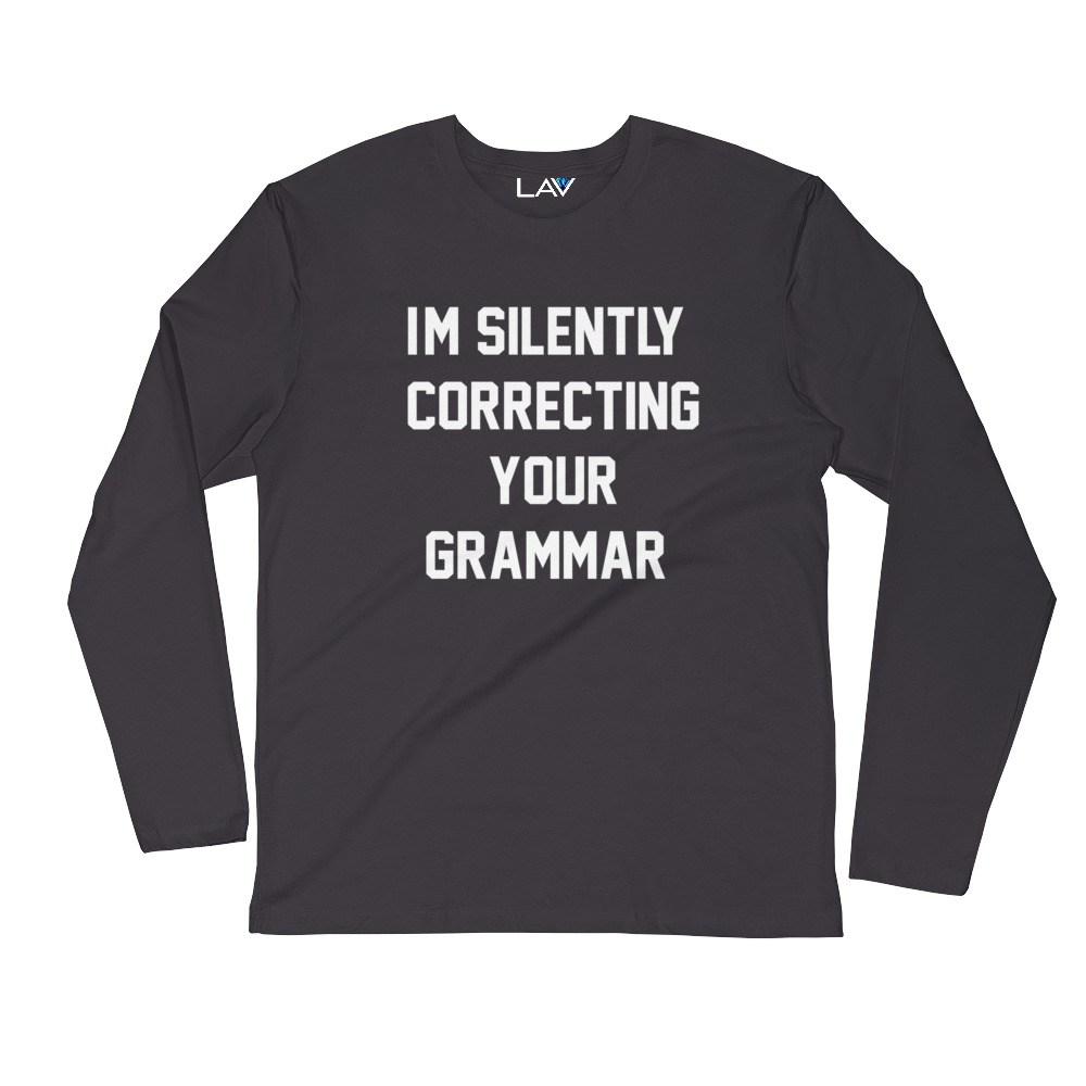 I'M SILENTLY CORRECTING YOUR GRAMMAR | LAV