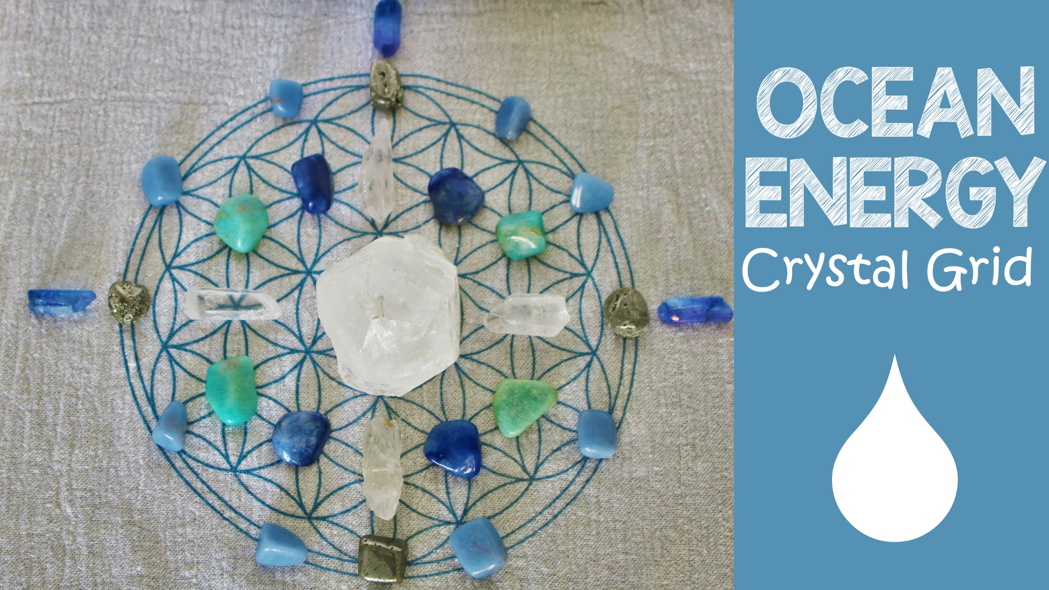 Self Love Crystal Grid