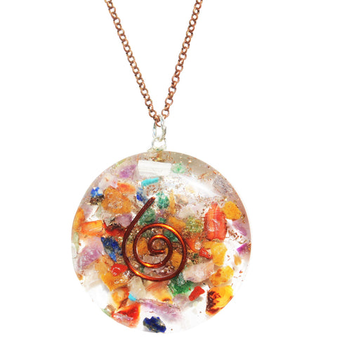 Peace Orgone Necklace