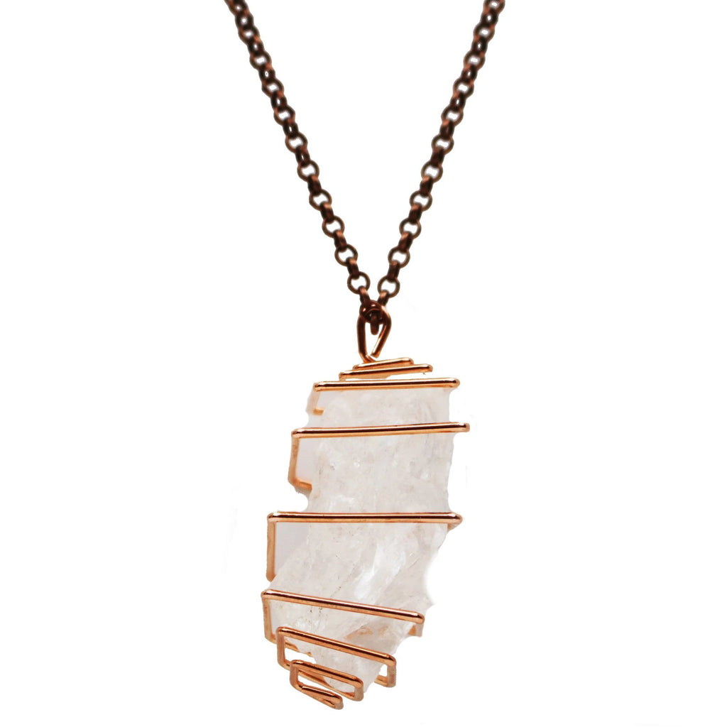 Quartz Pendant Necklace