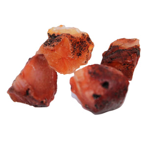 Raw Carnelian Crystals