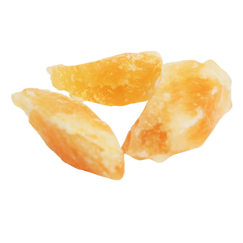 Raw Orange Calcite Crystal Gemstones