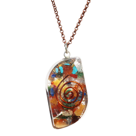 Teardrop Orgone Necklace