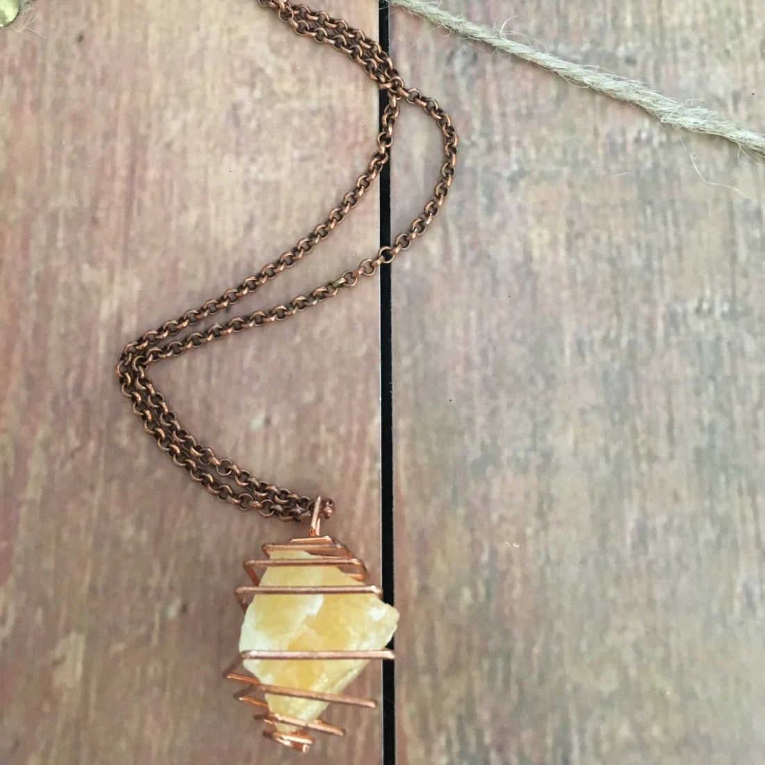 Orange Calcite Jewelry