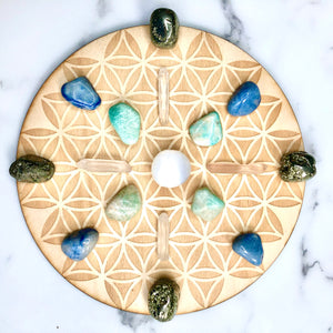 Ocean Energy Crystal Grid