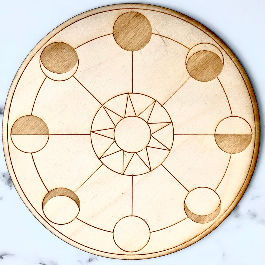 New Beginnings (Moon Phase) Grid