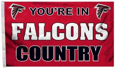 Falcons Country Flag