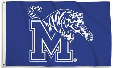 Memphis University Logo Flag