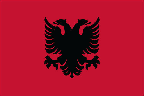 Albanian Flag - Pinnacle Flags