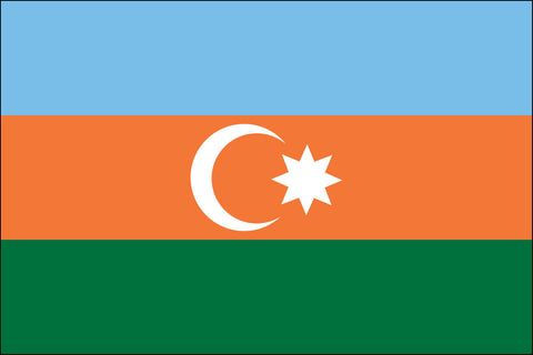 Azerbaijani and Azeri Flag - Pinnacle Flags