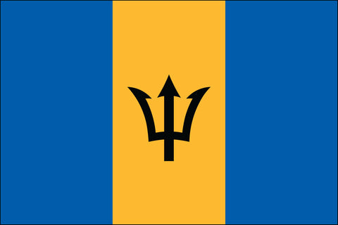 Barbadian Flag - Pinnacle Flags
