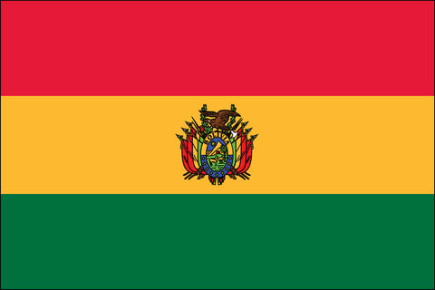 Bolivian Flag - Pinnacle Flags