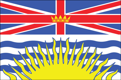 British Columbia Flag - Pinnacle Flags