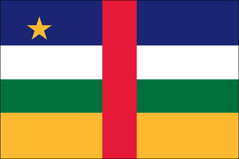 Central African Flag - Pinnacle Flags