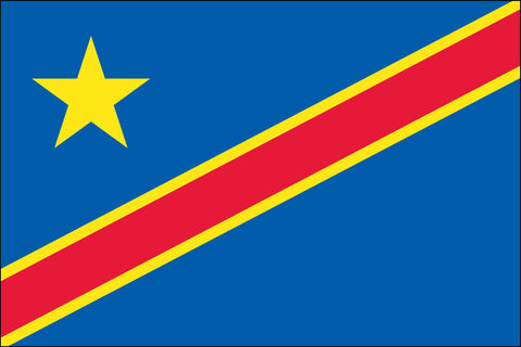 Congo Democratic Republic Flag - Pinnacle Flags