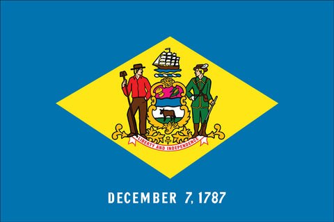 Delaware Flag - State Flags