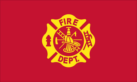 Fire Department Flag - Service Flags