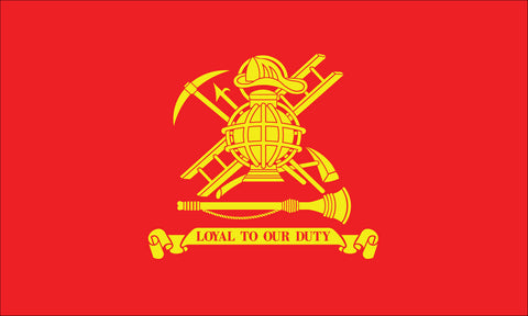 Firemen Flag - Service Flags