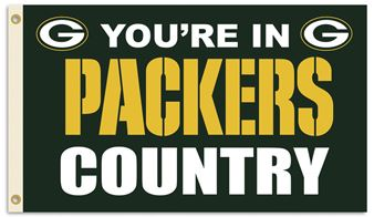 Packers Country Flag