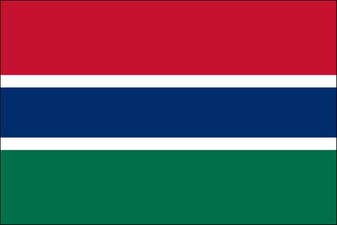 Gambia Flag - Pinnacle Flags