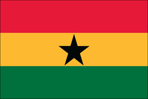 Ghanaian Flag - Pinnacle Flags